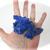 """Lapis Lazuli Crystal Dragon Skull 3.3"""" 78g"""