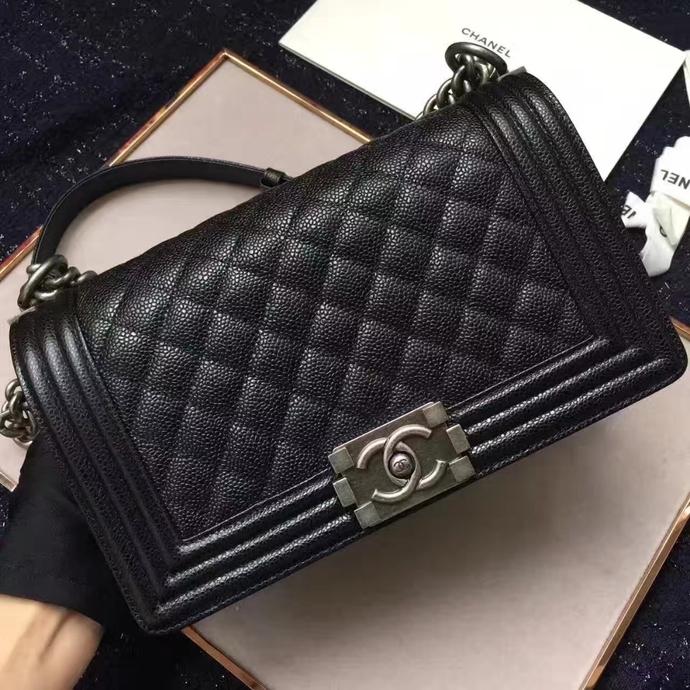Chanel LEBOY BAG caviar leather