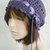 hand crochet Tam rasta beanie Hat ~ chic slouch ~purple
