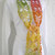 hand crochet scarf womens scarf womens accessories lacy scarf multicolored scarf