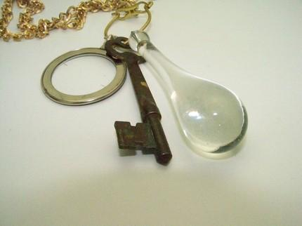 STEAMPUNK NECKLACE-THE WITCHES TOOLS- DONT LEAVE HOME WITHOUT THEM -