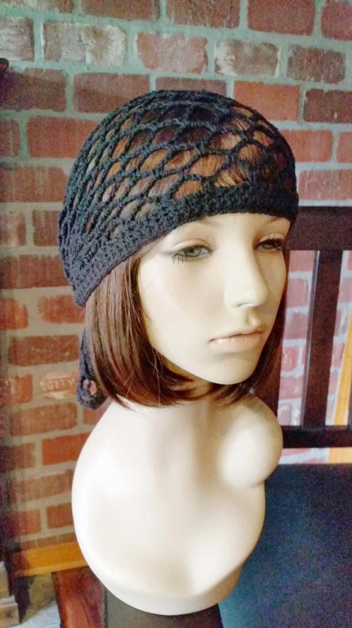hand crochet bandana dorag women bandana men bandana dreadlock snood women