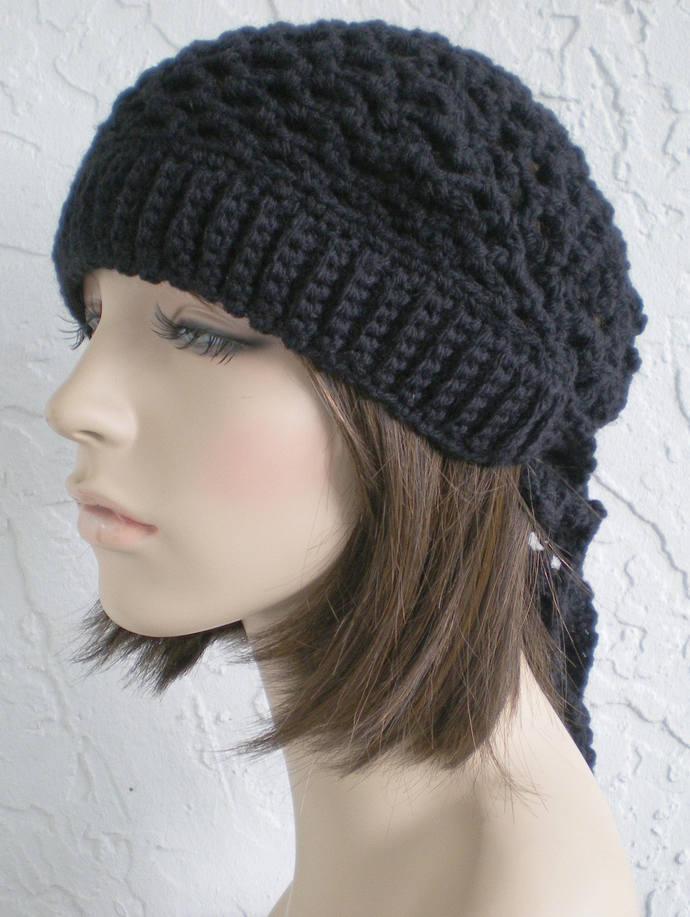 hand crochet bandana kerchief women men womens accessories dreadlock snood hair