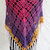 hand crochet Shawl Capelet shoulder wrap womens accessories chic lacy  ~ stylish
