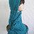 blue knit hood scarf hat  hand crochet  hood scarf hat womens accessories winter