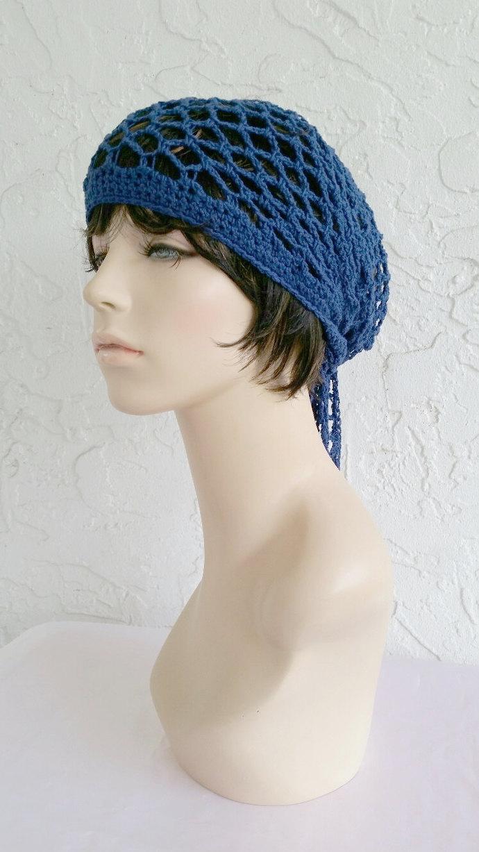 hand crochet bandana dorag women bandana men bandana dreadlock snood men women