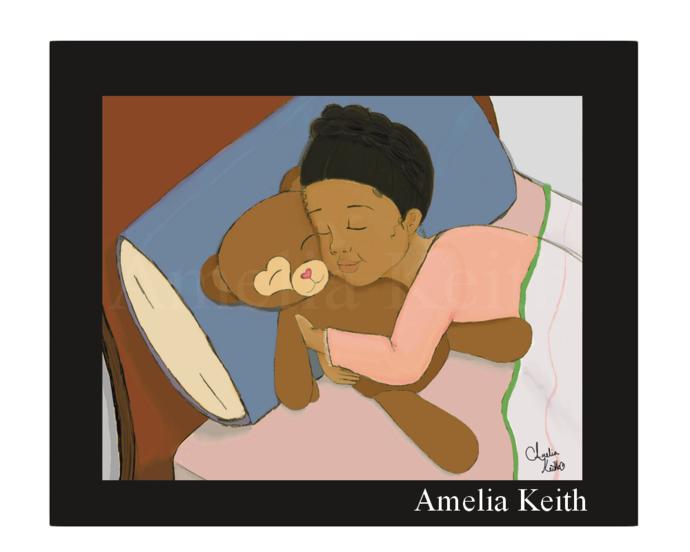 """Sweet Dreams"" || Fine Art Print, WallArt,by Amelia Keith || Nice Gift"