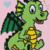 Baby Dragon Love Crochet Pattern C2C PDF Graph Written Row by Row Color Block