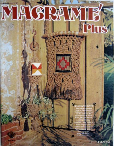 Macrame Plus Vintage Pattern Book