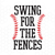 Swing For The Fences Digital Cut Files Svg, Dxf, Eps, Png, Cricut Vector,