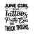 June Girl With Tattoos Pretty Eyes And Thick Thighs Digital Cut Files Svg, Dxf,