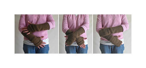 Custom Made to Order Knit Fingerless Gloves, Arm Warmers, Hand Warmers, Wrist