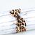 Custom Order for Carolyn - Leopard Retro Knot Headband