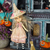 OOAK witch costume for Wren and Middie - dress, hat, broom and socks