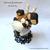 Banana Caramel Chocolate Siamese Cat Sundae Felt Dessert, Cat Lovers Gift, Cafe