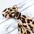 Custom Order for Jill - Leopard Retro Bow Headband