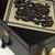 LOCKABLE DELUXE Black, Beige & Gold wooden Jewellery Storage Box with black