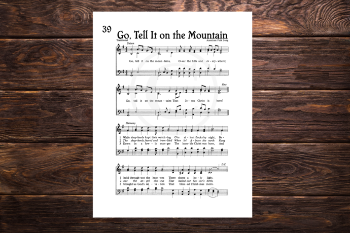 photo about Christmas Caroling Songbook Printable identified as Move Inform IT Upon THE MOUNTAIN Typical Verses Printable Sheet Tunes Do it yourself Wall Artwork Quick Down load Antique Hymn Artwork Xmas Carol Artwork Holiday vacation