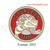 Custom embroidery design,STURGEON STING RED logo embroidery ,Custom embroidery