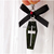 Acrylic Coffin Charm, Clip On, Halloween Accessories, Pet Charms, Gothic Pet
