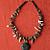 Black Lava and Ocean Jasper Chips Necklace