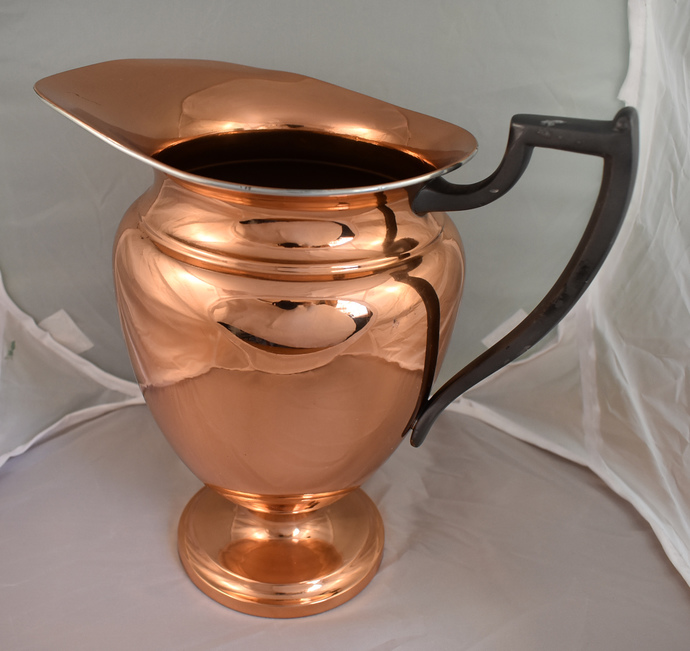Rogers Silver Company Copper Pitcher. Vintage Copper