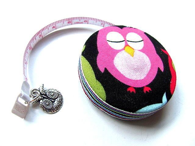 Measuring Tape Soft Sahde Owls Retractable Pocket Tape Measure