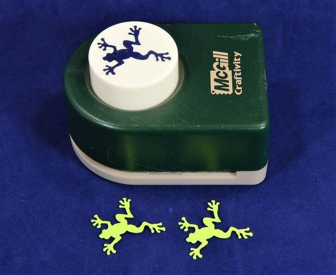 Used FROG Paper Craft Punch, by McGill