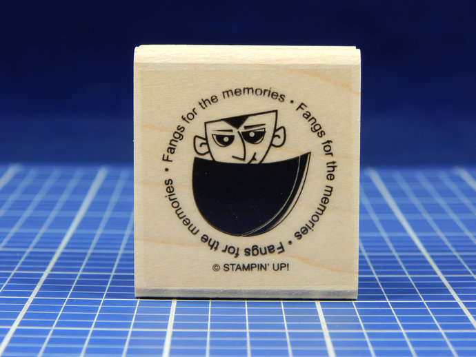 FANGS For the MEMORIES, Rubber Stamp, Stampin' Up!