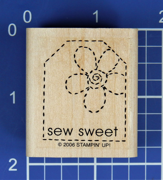 SEW SWEET, Rubber Stamp by Stampin' Up!