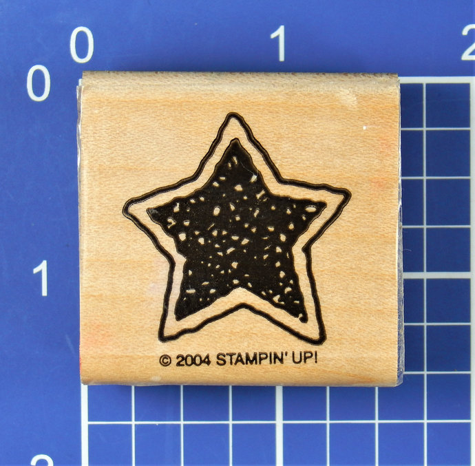 STAR, Wood Mounted Rubber Stamp by Stampin' Up!