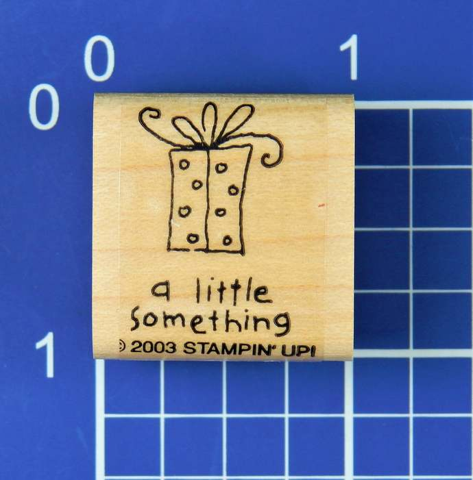 A LITTLE SOMETHING, Rubber Stamp by Stampin' Up!