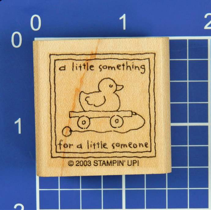 A Little Something for a Little Someone, Rubber Stamp