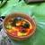 Bronze Pearl Finish Trinket Dish with Colorful Swirls