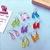 Handmade Gummy Bear Drop Earrings Resin Kawaii Cute Candy Food Pastel Sweet