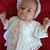 Baby Girl Coming Home/Christening/Baptism Outfit Crochet Pattern with Jacket,