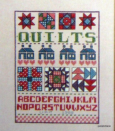 Special Samplers to Cross Stitch -- Vintage Pattern Book