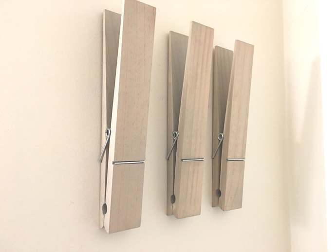 """Rustic Jumbo 12"""" Clothespin, Rustic 12"""" Extra Large Clothespin, Rustic Jumbo"""