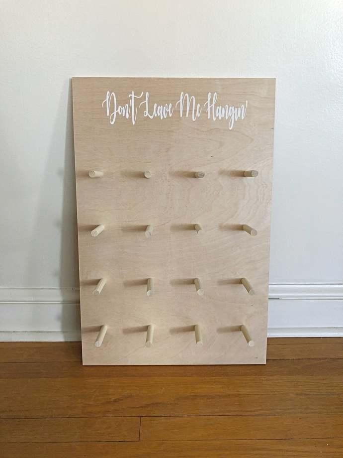Donut Wall Wedding, Donut Board Wedding, Don't Leave Me Hangin', Donut Stacker,