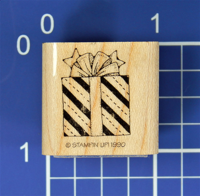 CHRISTMAS PRESENT, Rubber Stamp by Stampin' Up!