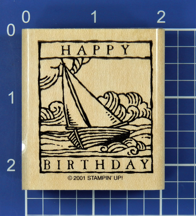 HAPPY BIRTHDAY, Rubber Stamp by Stampin' Up!