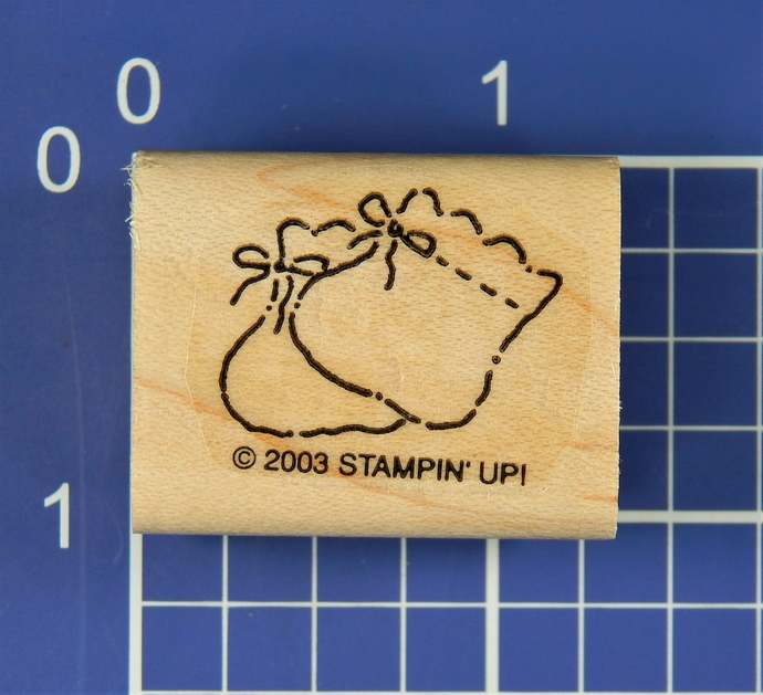 BABY BOOTIES, Rubber Stamp by Stampin' Up!