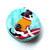 Measuring Tape Surfer Dogs Retractable Tape Measure