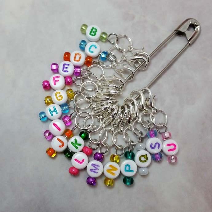 Crochet hook size reminder stitch marker | crochet hook marker, crochet progress
