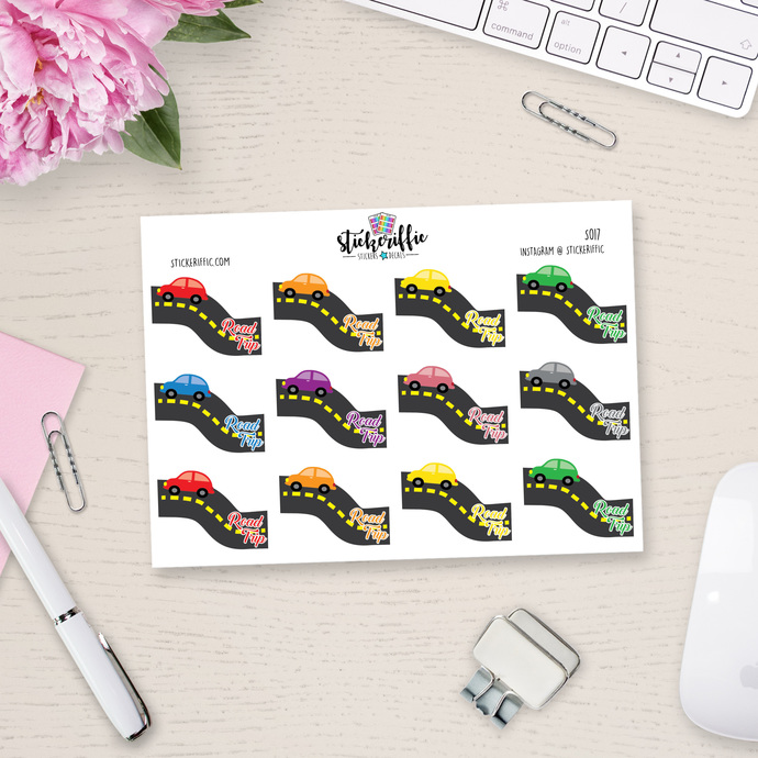 Road Trip Stickers - S017