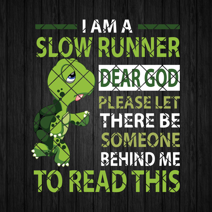 I Am A Slow Runner-Dear God Please Let There Be Someone Behinnd Me To Read This