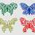 Butterfly Floral Svg Png Dxf & Eps Designs Cameo File Silhouette