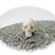 Tiny Bovine Bone Jawless Crystal Skull 16mm 2g