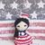 Betsy the Partiotic Girl-Crochet Amigurumi Pattern PDF