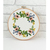 Beautiful wreath counted cross stitch pattern wild flower floral berry cute easy
